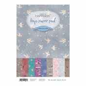 Ultimate Crafts A4 Boys Pad, Paper, Multicoloured, 31.8 x 21.1 x 0.9 cm