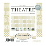 Ultimate Crafts Theatre Pad, Paper, Multicoloured, 15cm x 15cm