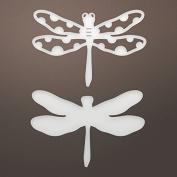 Ultimate Crafts Mini Dragonfly Die, Metal, Black, 15.4 x 11 x 0.6 cm