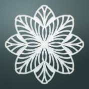 Ultimate Crafts Classy Flower Die, Metal, Black, 22 x 9.9 x 0.6 cm
