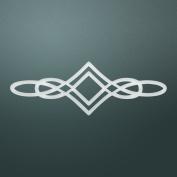 Ultimate Crafts Diamond Flourish Die, Metal, Black, 22 x 9.9 x 0.6 cm
