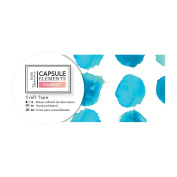 Elements Pigment Papermania Watercolour Collection - Blue Dot Craft Tape