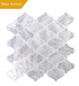 Vamos Tile Premium Anti Mould Peel and Stick Tile Backsplash,Self Adhesive Wall Tiles for Kitchen & Bathroom-25cm x 25cm