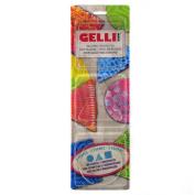 "Gelli Arts ""Minis"" Round Printing Plates, Transparent"