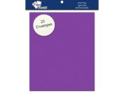 Accent Design Paper Accents ADPA2-25.70 11cm x 15cm Grape Soda Envelope