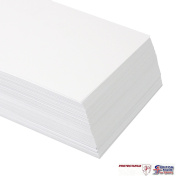 White A6 Card 300gsm 50 Sheets White Card