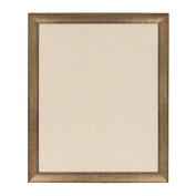 DesignOvation - Strohm Framed Decorative Pinboard, Large 70cm x 90cm , Antique Gold