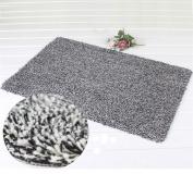 Indoor Door Mat No Slip Super Absorbent Clean Step Doormat, Shoes Scraper Fantastic Ideal For Your Home's Front Door 46cm x 70cm By KsaBela