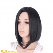 ATAYOU-Wigs Shoulder Length Short Straight Bob Women Wigs