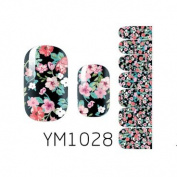 Nail Art Foils Patch Polish Stickers - YM1028 Nail Sticker Tattoo - FashionLife