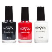 MoYou Nails Bundle of 3 Stamping Nail Polish