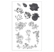 Free Shipping,Malloom Silicone Butterfly Flower Embossing Template DIY Card Scrapbooking Decor