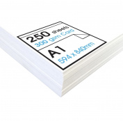 Artway STUDIO 300gsm White Card for Display & Mounting - Wholesale Pack - A1