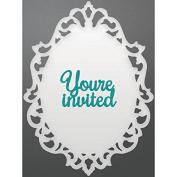 Couture Creations Enchanted Tea Party Die-Frames 6.6cm x 8.9cm & 2.8cm X.18cm