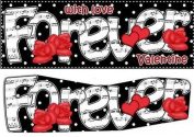 Lge Dl Love Forever Valentine Hearts & Roses 3D Decoupage by Carol Clarke