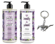 Love Beauty And Planet Smooth and Serene Shampoo & Conditioner, Argan Oil & Lavender 650ml