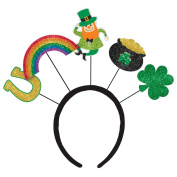 St. Patrick's Day Over the Rainbow Head bopper