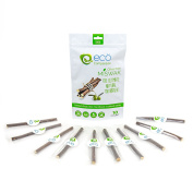 10 Wild Olive Miswak Sticks by Eco Compassion | 100% Natural Healthy Manual Toothbrush | Eco Friendly Sewak Chewing Stick for Teeth Whitening | Whiter Teeth, Fresher Breath | Zaitoon, Aswad, Zaytoun