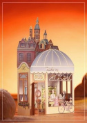 Luxury Birthday Bakery 3D 2 in 1 card, UNIQUE UNUSUAL