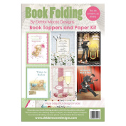 Debbi Moore Designs Book Folding Book Toppers & Card Making Paper Kit 3