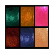 Ancient Earth Primary Elements Arte-Pigments BY leslie Ohnstad, SIX PC SET 30ml Big Mama Jars List price $ 65.95