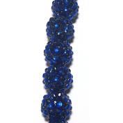 Shamballa Beads 16 mm Round 7-1/4 inches diybeads-shamballa-1007