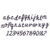 Sizzix Bigz XL Alphabet Die - 662709 Cutout Script by Tim Holtz