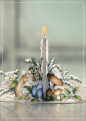 Luxury WHITE DECORATION CHRISTMAS 3D 2 in 1 card, christmas, UNIQUE UNUSUAL