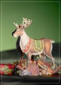 Luxury REINDEER CHRISTMAS 3D 2 in 1 card, christmas, UNIQUE UNUSUAL