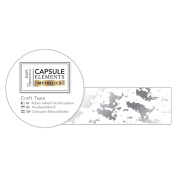 Elements Metallics Papermania Collection - Silver Texture Craft Tape