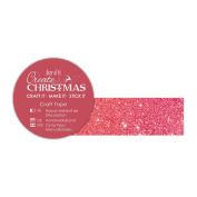 Create Christmas (Papermania) - Red Glitter Craft Tape