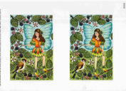 1 sheet fairy theme decoupage sheets, ideal for arts and crafts, card, invitations, framing, dolls houses and lots more etc