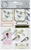 Ruby Rock-It Birds -3D Decoupage Pack