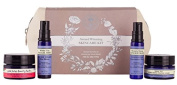 Neal's Yard Remedies Award Winning Skincare Kit - Kit contains Wild Rose Beauty Balm (15g) | White Tea Facial Mist (8ml) | Beauty Sleep Concentrate (8ml) | White Tea Enriching Facial Mask (15g) | We've also popped a sachet of our Frankincense Intense C ..