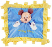 Disney Baby Plush Mickey Mouse Security Blanket Toy Blue
