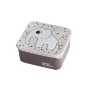 Done By Deer 10651 – Container for Food with Elephant Design, Pink