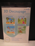 3D Decoupage Card Kit - Princess Cardmaking Scrapbooking Arts & Crafts AM584