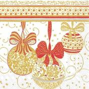 Ideal Home Range ' Christmas Decorations ' Paper Napkins