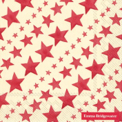 Ideal Home Range 20-Count Emma Bridgewater Paper Lunch Napkins, Red Starry Skies