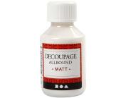 100ml Matt Decoupage & Decopatch Glue for Napkins & Paper | Craft Adhesives