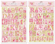 Tilda Kitchengarden Letters Decoupage Papers