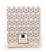 American Crafts Notebook Gold Foil Geo, 10cm x 15cm