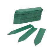 Yeah67886 10cm x 2cm Plastic Plant Pot Sticks Nursery Garden Stake Labels