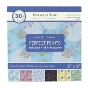 Homeford FMC00SP22814 Serenity Paper Stack Pads, 15cm x 15cm , Blue
