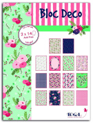Toga PB125 Lovely Flowers of 28 sheets Rainbow Printed Paper 15 x 20 x 0.5 cm