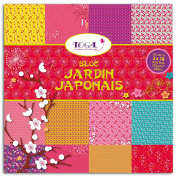 Toga Japanese Garden Paper Pad, 36 Sheets, Multi, 20 x 20 x 0.5 cm