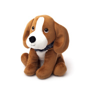 Warmies Pets Plush Heat Up Microwavable Soft Cuddly Toys With A Lavender Scent, Beagle