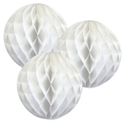 5pack 20cm Tissue Paper Pompoms Honeycomb Ball Lantern Flower For Wedding Party Decorations