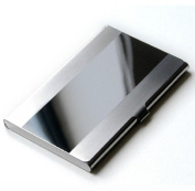 SUxian Stainless Steel Aluminium Business ID Card Credit Card Holder Case