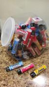Savex Counter Jar Lip Balm Sticks 72ct